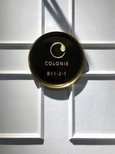 Colonie 1121 door sign at 80colonie, Fraser's Hill, Bukit Frasers, Pahang, Highlands, highlands