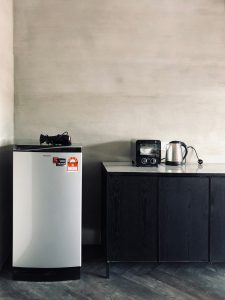 Facilities at Colonie including refrigerator,toaster oven and kettle, Fraser's Hill, Bukit Frasers, Highlands, highlands