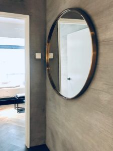 Wall mirror with golden frame in Colonie 1121,Fraser's Hill, Pahang, Bukit Fraser, Highlands, highland