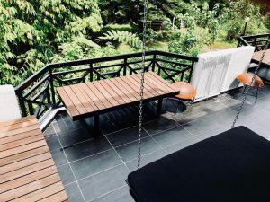 Outdoor balcony at Colonie 1121, Fraser's Hill, Bukit Fraser, Pahang, Highlands, highlands